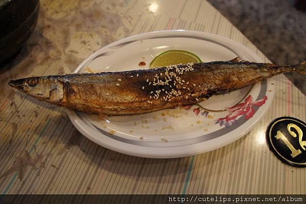 火烤秋刀魚