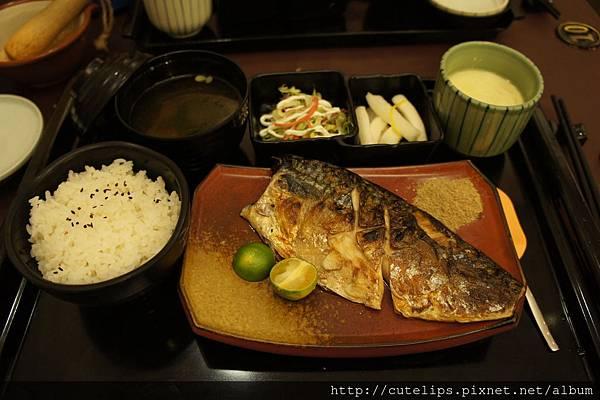 御勝套餐~日本醬燒鯖魚