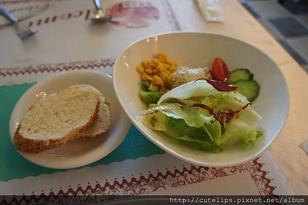 麵包&沙拉