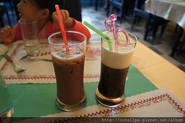 可可亞奶茶&冰拿鐵