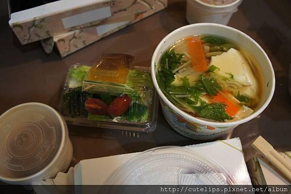 野菜豬肉鍋定食102/11/24