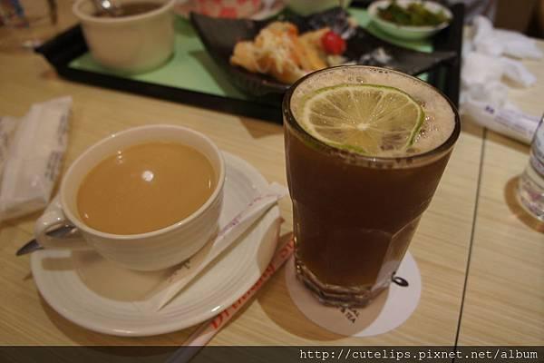 熱奶茶&檸檬紅茶