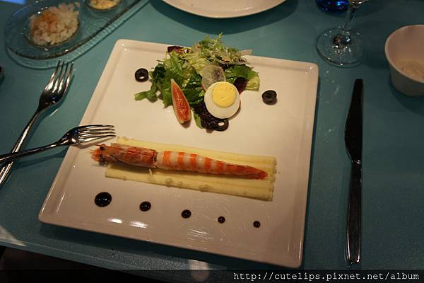 鮮蝦花園沙拉