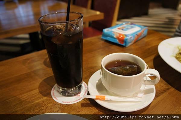 可樂&熱紅茶