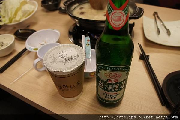 布萊恩觀音紅茶&台灣金牌啤酒