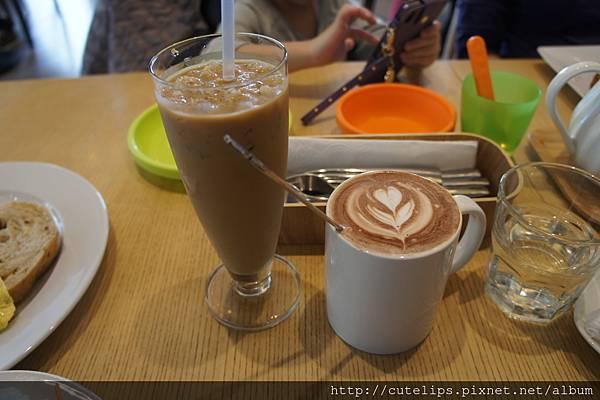 現調冰咖啡&可可歐蕾