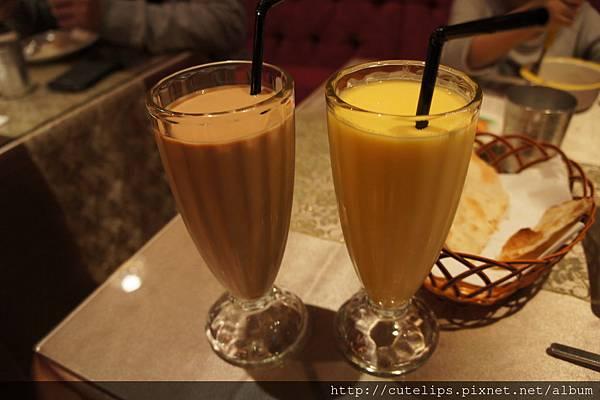 印度冰奶茶&芒果優格