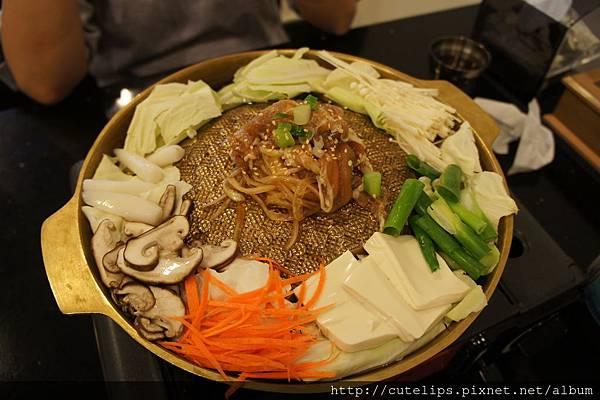 銅盤烤肉(豬肉)