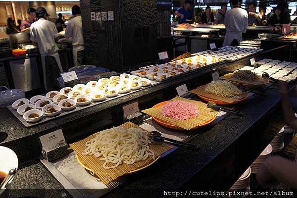 日式涼麵區
