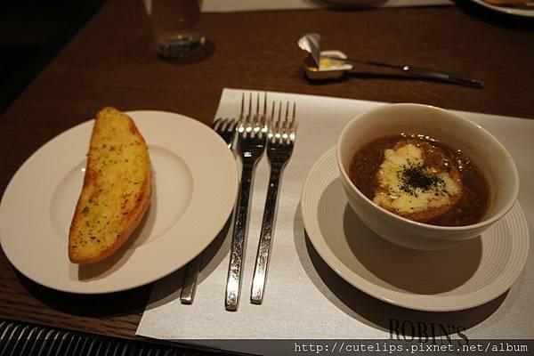 法式起司焗洋蔥湯&麵包