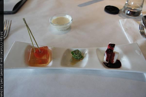前菜-蒟蒻番茄+彩椒水蓮+藍梅山藥103/6/2