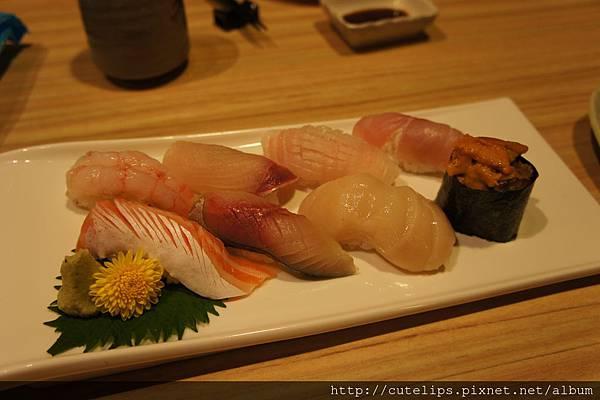 特上盛合握壽司