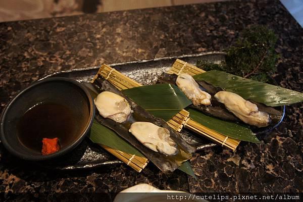 牡蠣松前燒