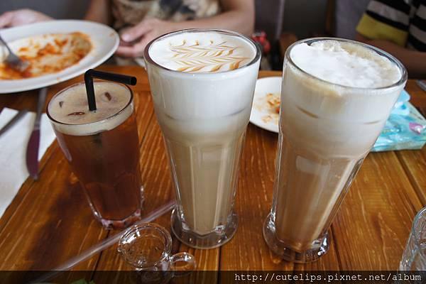 日月紅茶、焦糖瑪琪朵&焦糖奶茶