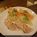 ?握壽司、比目魚緣側壽司&炙燒鮭魚腹壽司