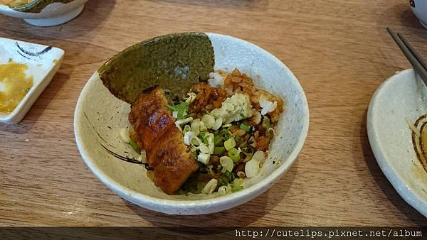 鰻魚飯第二種吃法