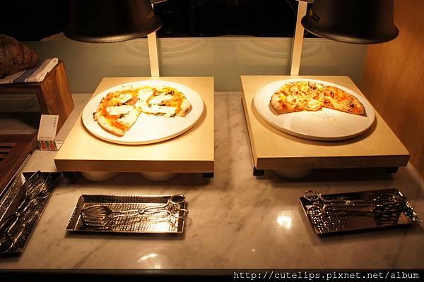 pizza區