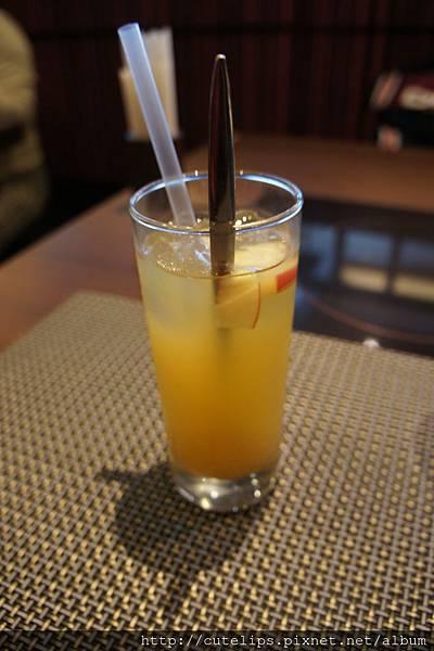 飲料-冰蘋果綠茶