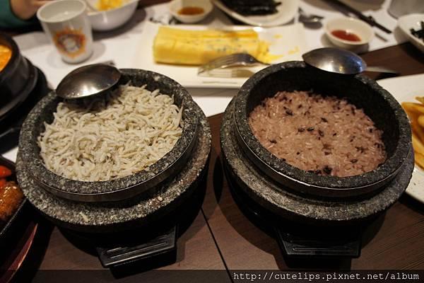 韓式石鍋飯(吻仔魚&原味)