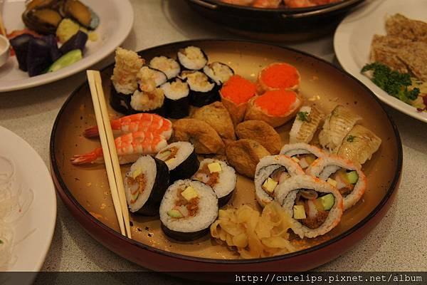 綜合壽司盤