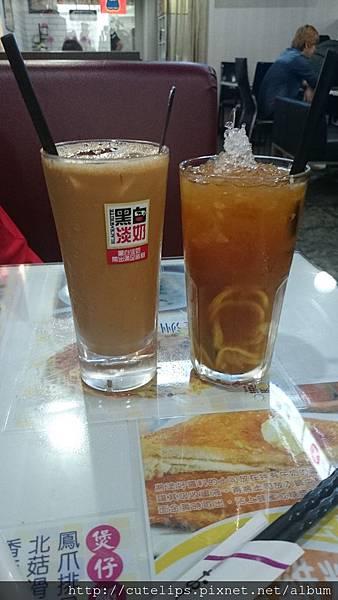 香滑鴛鴦&凍檸茶