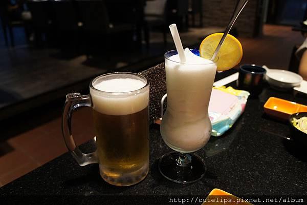 朝日生啤酒&可爾必思冰沙