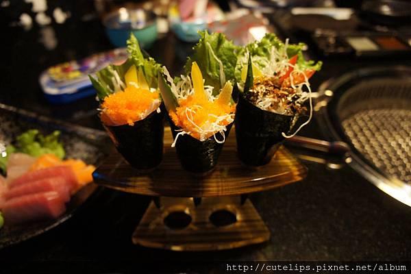 手捲-蝦卵&鮮蝦