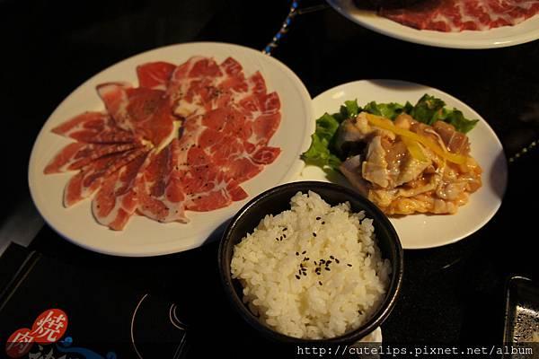 梅花豚&雞肉