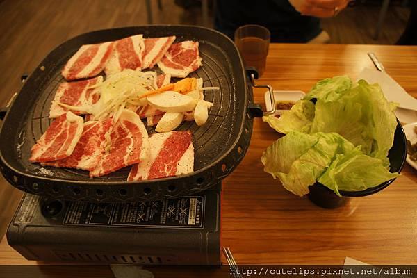 韓式烤肉-牛五花
