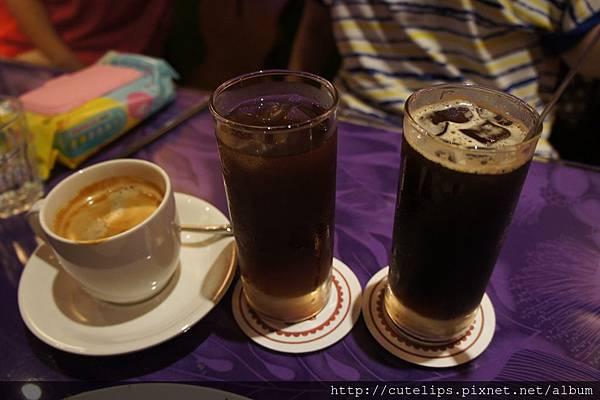 熱咖啡、冰紅茶&冰咖啡