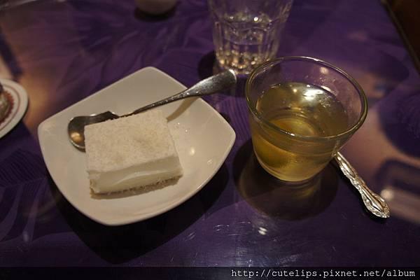 甜點-椰奶派&梅子凍