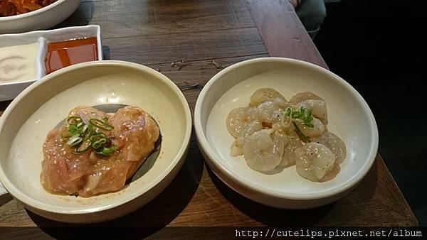 味噌雞腿肉&鹽味白玉蝦仁