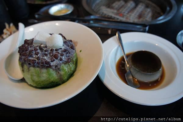 甜品-紅豆抹茶剉冰&香濃芝麻布104/5/3丁