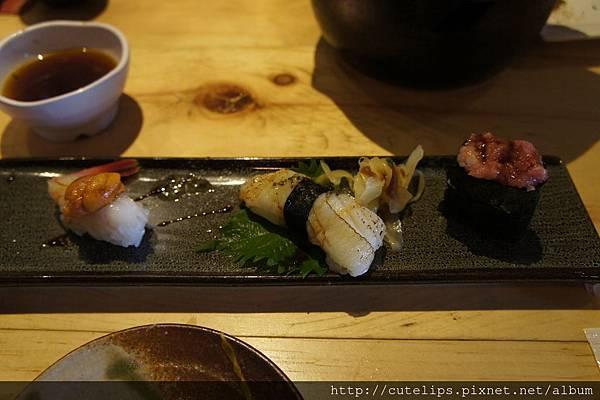 1580元個人套餐-比目魚盛合壽司三貫104/5/10