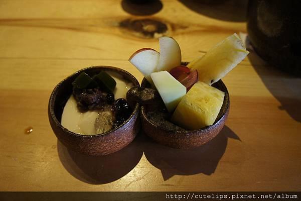 特製甜點&季節水果