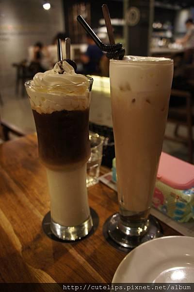 炭烤榛果拿鐵&冰鮮奶茶
