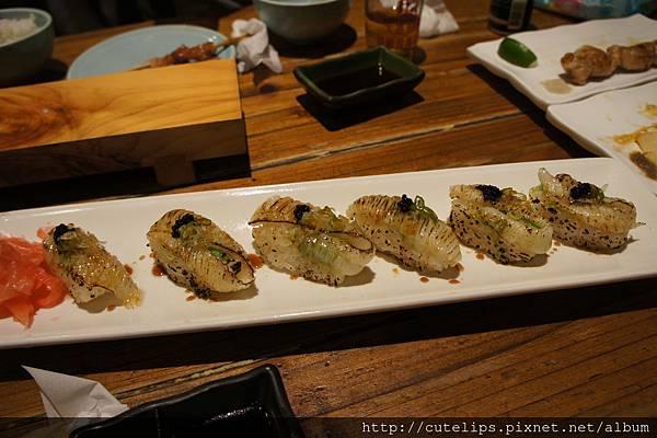 炙燒比目魚壽司