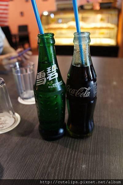 雪碧&可口可樂