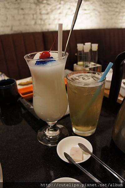 可爾必思冰沙&龍眼蜜茶104/6/27
