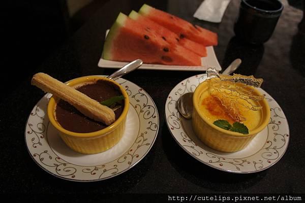 水果&甜點-提拉米蘇&焦糖烤布蕾104/6/27