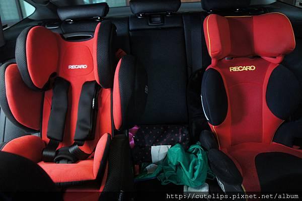 德、日兩版的Recaro座椅