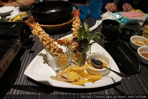 創作米香蝦