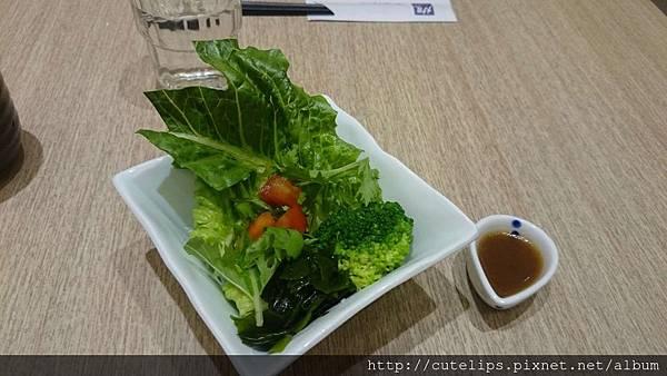 豬肉味噌醬燒定食-沙拉