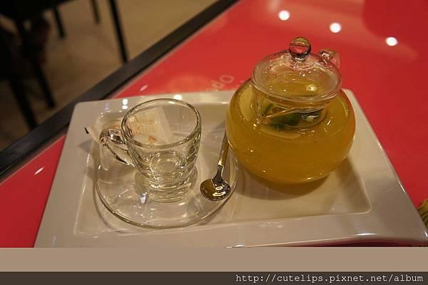 附餐飲料-熱桔茶