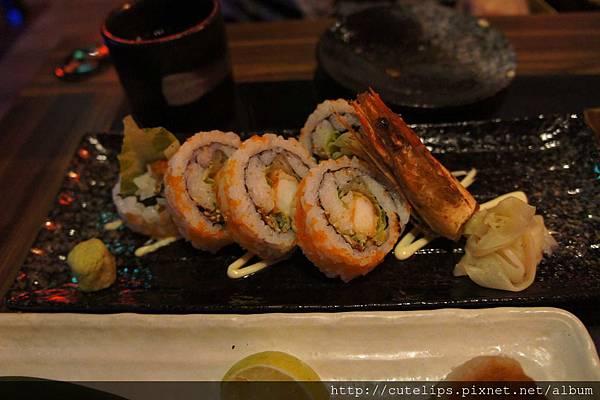 炸大蝦壽司