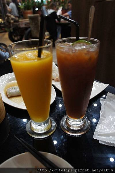 芒果冰沙&凍檸茶