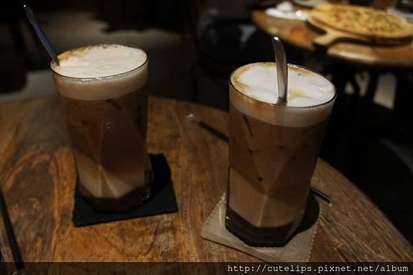 焦糖拿鐵&咖啡拿鐵