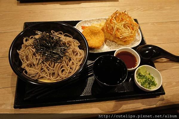 竹籠蕎麥麵&炸物