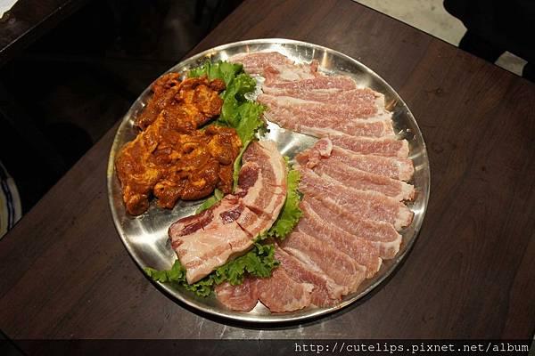 四人套餐(豬肉)