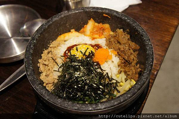 明太子石鍋拌飯(豬肉)